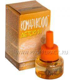 Жидкость от комаров детская КОМАРИКОФФ 30 мл/45 ночей