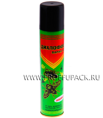 Дихлофос ВАРАН универсальный 200мл. Зеленый