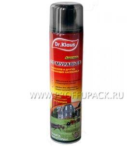 Аэрозоль DR.KLAUS ATAK от ползающих насекомых, 600 мл