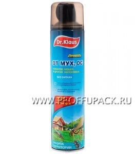 Аэрозоль DR.KLAUS FLY от мух, ос и др. летающих насекомых, 600 мл