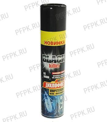 Дихлофос Black Killer универсальный 300мл.