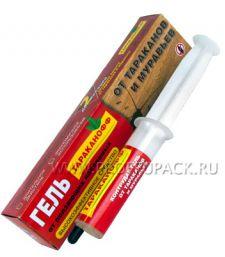 Гель ТАРАКАНОФФ от тараканов и муравьев (шприц 20мл)