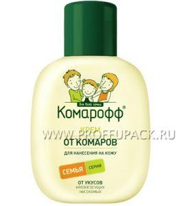 Крем КОМАРОФФ от укусов насекомых, 60 мл.
