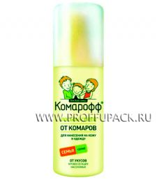Лосьон-спрей КОМАРОФФ от укусов насекомых, 100мл.