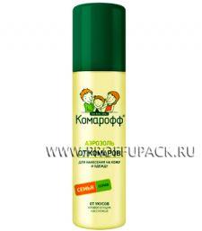 Аэрозоль КОМАРОФФ от укусов насекомых, 150мл.