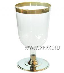 Бокал для вина 200мл. метал [уп. 6 шт.] ВИНТАЖ