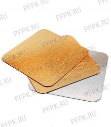 Вакуумная подложка 130х130 Золото/Серебро