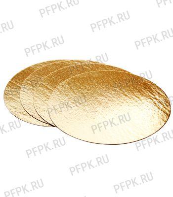 Вакуумная подложка д-р 200 мм Золото/Картон