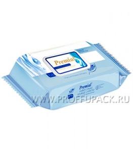 Салфетки влажн. PREMIAL (уп. 100 шт.) C термальной водой