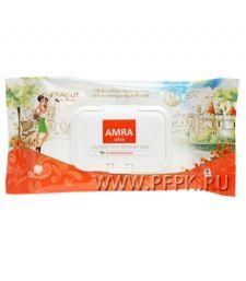 Салфетки влажн. AMRA TRAVEL (уп. 120 шт.) Прага