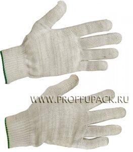 Перчатки х/б без покрытия 5-нитка 10-класс Белые