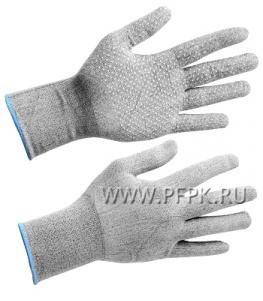 Перчатки нейлоновые с покрытием ТОЧКА Микс