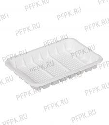 Лоток №2 белый, пластиковый [100/1800]