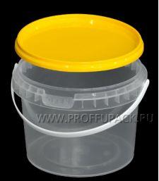 Крышка к ведру 0,4л, 0,5л, д-р 100мм (КВ-100) Желтая