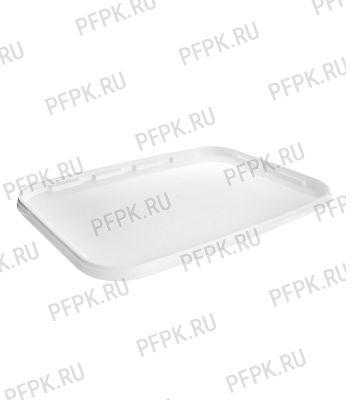 Крышка к ведру 20л, прямоугольная 388 (КК-388) Белая
