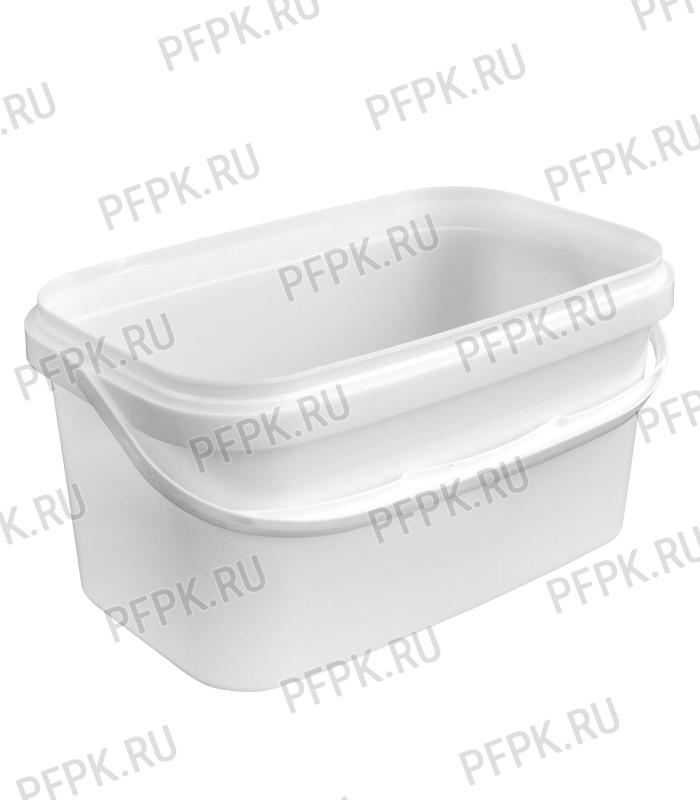 Крышка к ведру 3,3л, прямоугольная, 250 (КК-250) Прозрачная