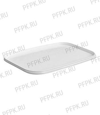 Крышка к ведру 3,3л, прямоугольная, 250 (КК-250) Белая