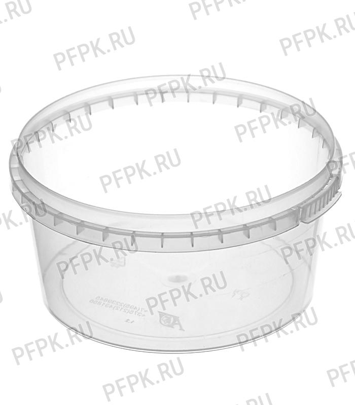 Крышка к банкам ПП 285, 500 мл, ведру 0,8, 1 л. д-р 122 мм Прозрачная