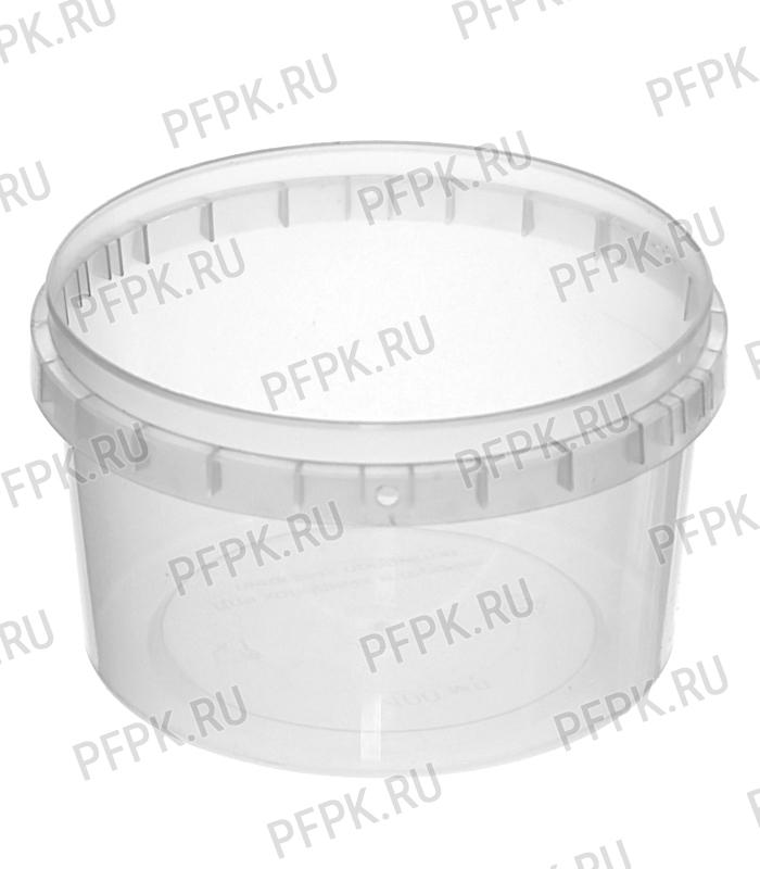 Крышка к ведру 0,4л, 0,5л, д-р 100мм (КВ-100) Прозрачная