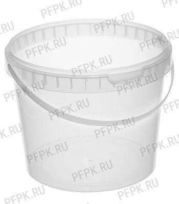 Ведро 11,5л (без крышки) Прозрачное JET 110-15PM
