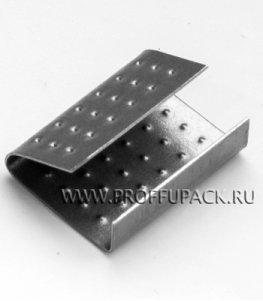 Скрепа для ленты полипропиленовой 19 мм, (по 1000 шт.) PP-19
