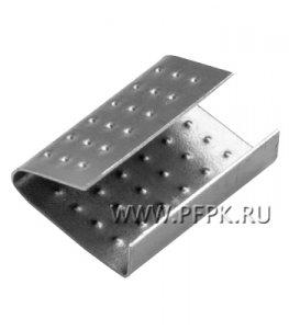 Скрепа для ленты полипропиленовой 19 мм, (по 1000 шт.) ПП-19