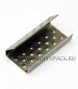 Скрепа для ленты полипропиленовой 12 мм, (по 1000 шт.) РР-13