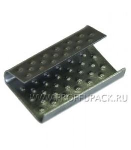 Скрепа для ленты полипропиленовой 16 мм, (по 1000 шт.) СМ-15х05