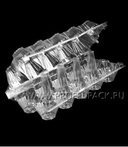 Емкость Я-10 (на 10 куриных яиц) ПР-КЯ-10 ПЭТ прозрачная