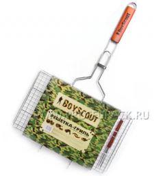 Решетка-гриль BOYSCOUT для стейков большая (61301)