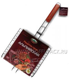 Решетка-гриль АЛЬПИЙСКАЯ (4 секции) ПИКНИЧОК (401-770)