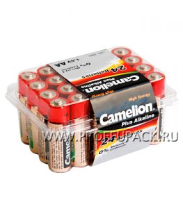 Батарейки CAMELION Plus LR6 (AA) алкалин (коробка 24 шт)
