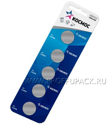 Батарейки КОСМОС CR2016 (блистер 5 шт)