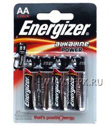 Батарейки ENERGIZER LR6 (АА) алкалин (блистер 4 шт)
