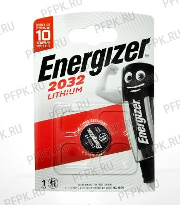 Батарейки ENERGIZER CR2032 (блистер 1 шт)