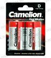 Батарейки CAMELION Plus LR20 алкалин (блистер 2 шт)