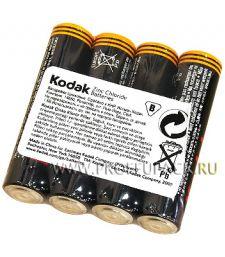 Батарейки KODAK R3 (AAA) солевые (спайка 4 шт)