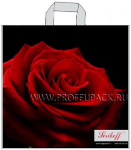 ВЕЛЮР 45х43+3 (100мкм) ПВД, SERIKOFF Роза премиум