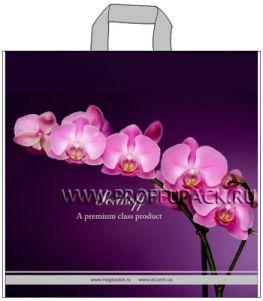 ВЕЛЮР 45х43+3 (100мкм) ПВД, SERIKOFF Ветка орхидеи