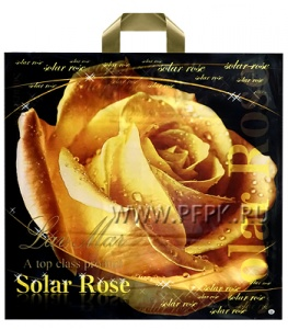 ЛАВ МАР 45х43+3 (90 мкм) ПВД Солнечная роза