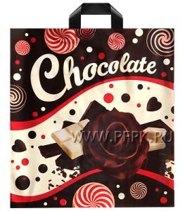 СИРЕНЬ 40х42+3 (70мкм) ПВД, ДПА Молочный шоколад 40х43