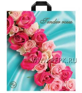РИЧ СТАЙЛ 38х45+3 (80 мкм) ПВД Нежные розы