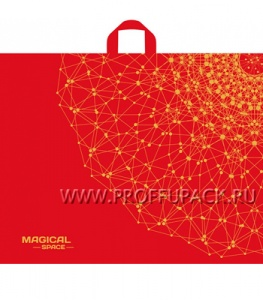 ИЗЫСК 70х55+3 (50мкм) ПНД, ТИКО Космический красный