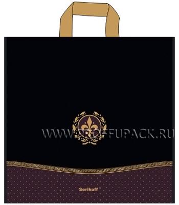 КОНЬЯК 40х40+4 (95мкм) матовый, SERIKOFF Лилия