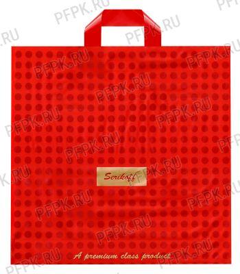КОНЬЯК 40х40+4 (95мкм) матовый, SERIKOFF Подарочный премиум (красный)