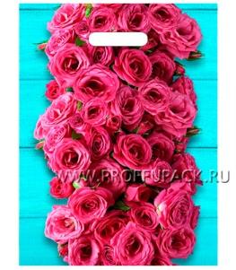 ТРИУМФ, вырубная ручка, 31х40+3 (60мкм) ламинат, ТИКО Дачные розы