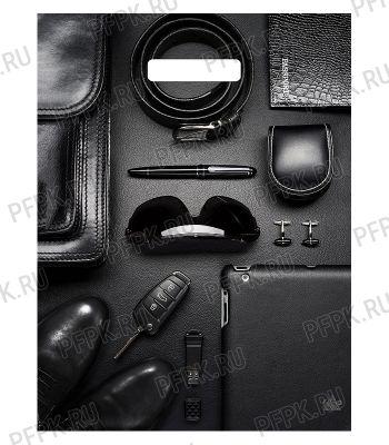 ТРИУМФ, вырубная ручка, 31х40+3 (60мкм) ламинат, ТИКО Деловые в черном