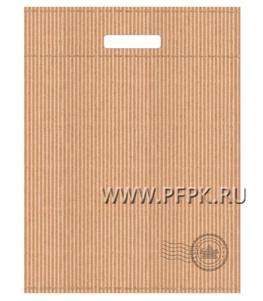 КРАФТ, вырубная ручка, 31х40+3 (60мкм), ТИКО NEW