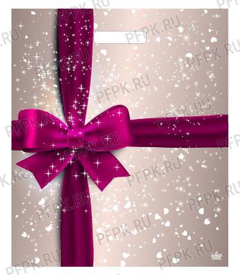 ЯНТАРЬ, вырубная ручка, 38х45+3 (60мкм) ламинат, ТИКО Подарочный перламутр