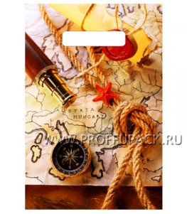 БУТИК, вырубная ручка, 20х30 (30мкм) ПВД, ТИКО Капитан Грант